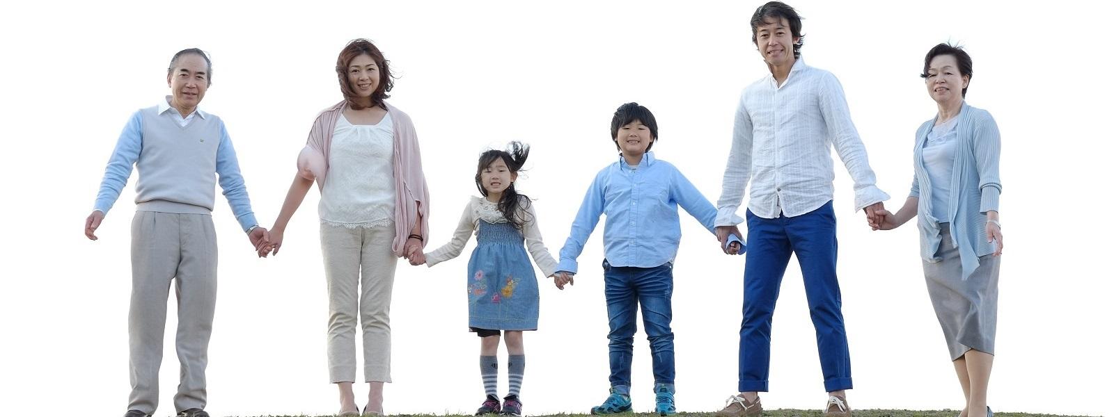 家族で健康、爽やかな着心地